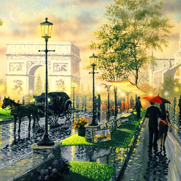 Прогулка в Париже