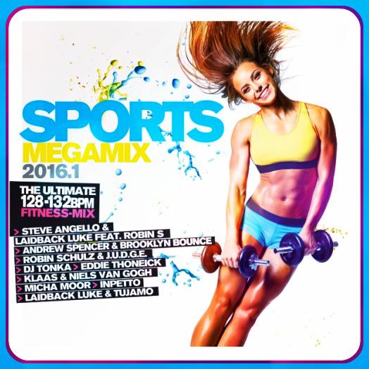 VA - Sports Megamix 2016.1 (2016)